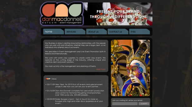 Dan MacDonnell Event Management